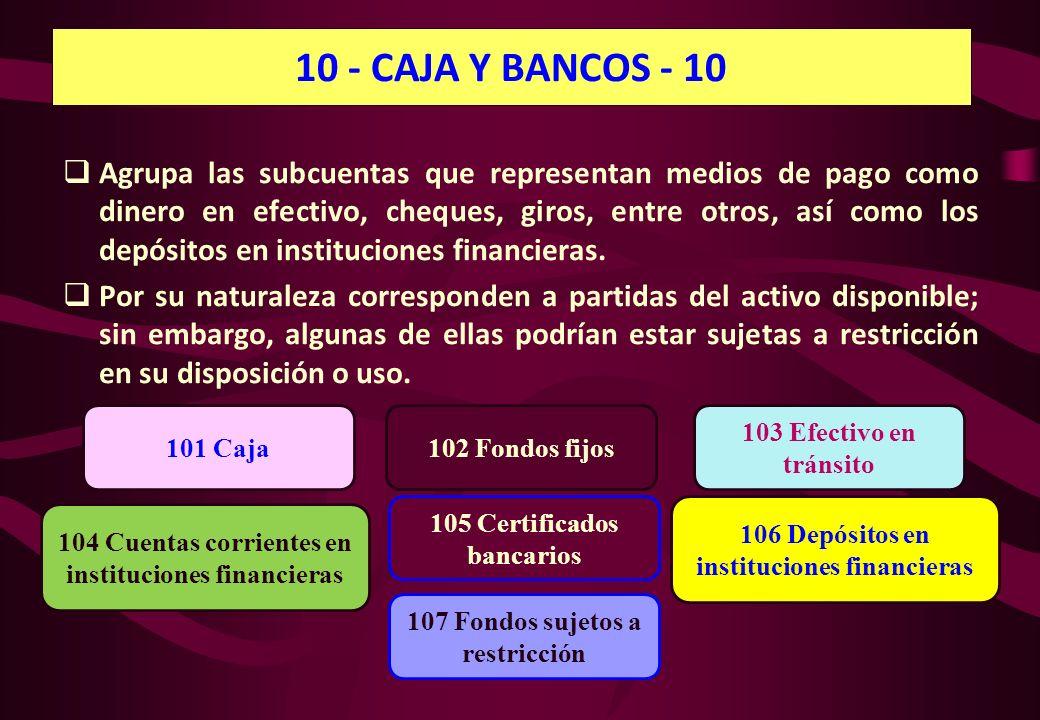 10 - CAJA Y BANCOS - 10