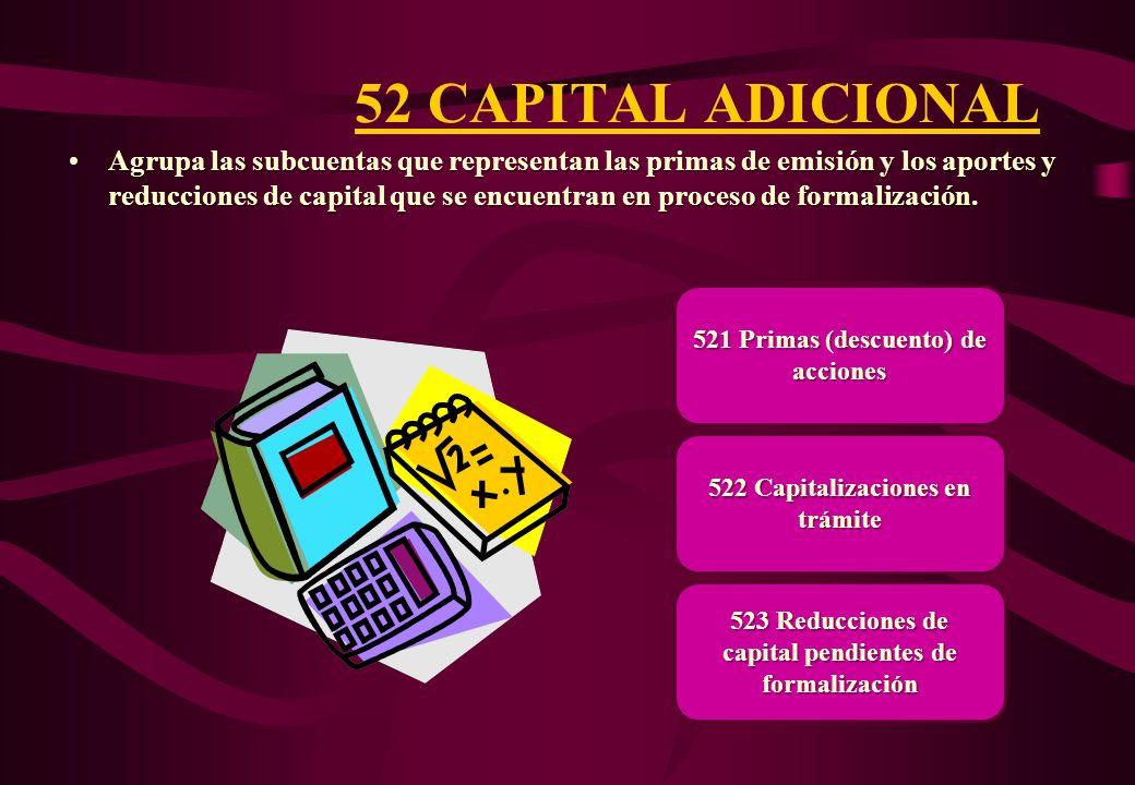 52 CAPITAL ADICIONAL