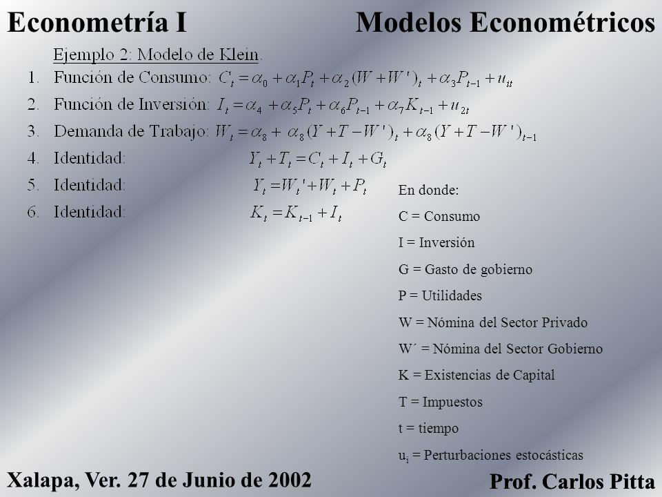 Modelos Econométricos