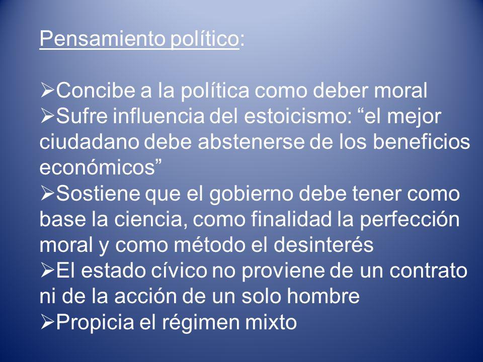 Pensamiento político: