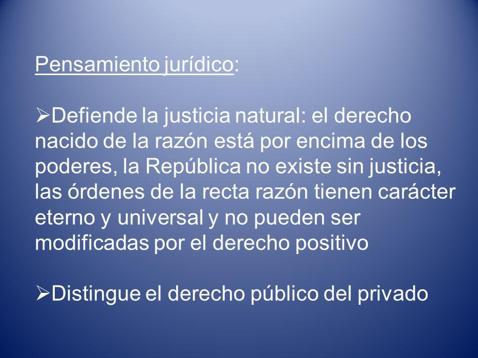 Pensamiento jurídico: