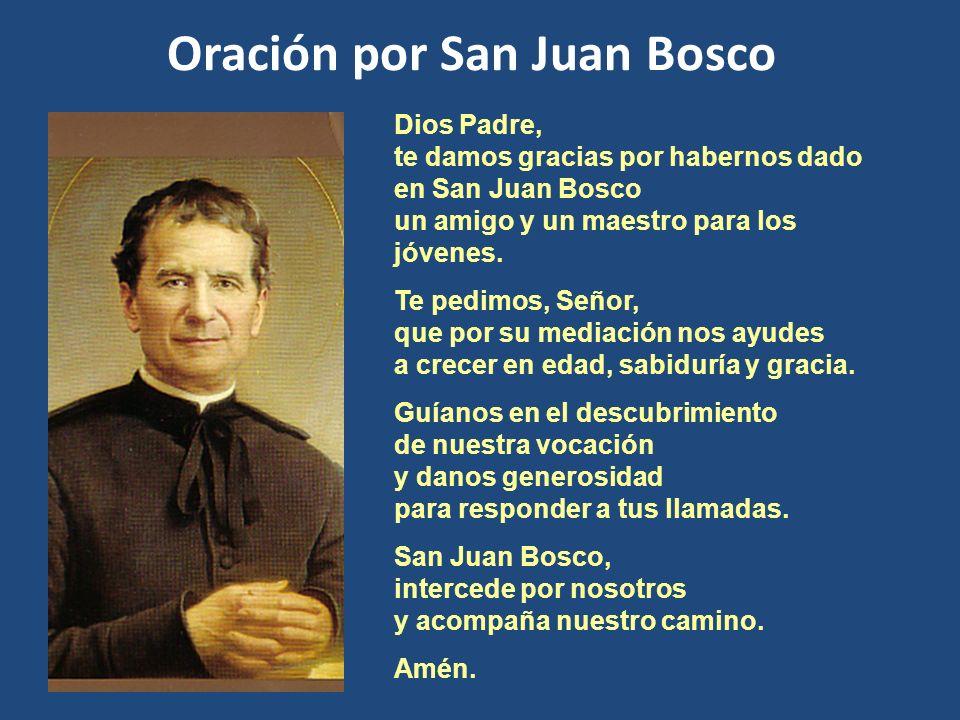Oración por San Juan Bosco