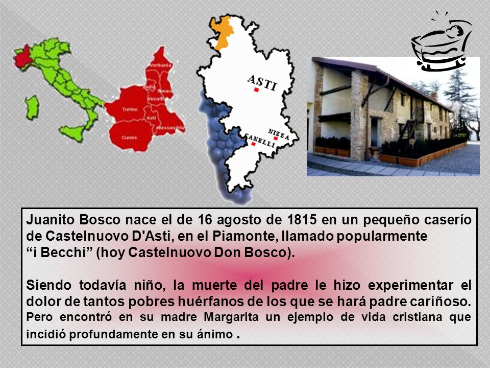 i Becchi (hoy Castelnuovo Don Bosco).