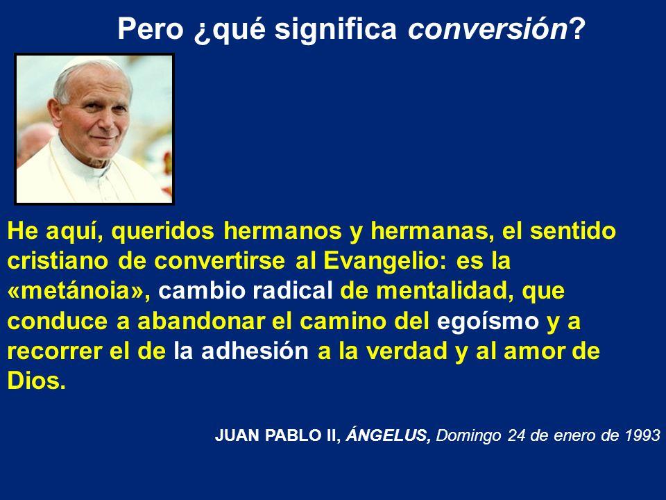 Pero ¿qué significa conversión