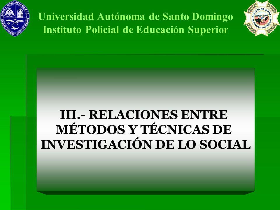INVESTIGACIÓN DE LO SOCIAL