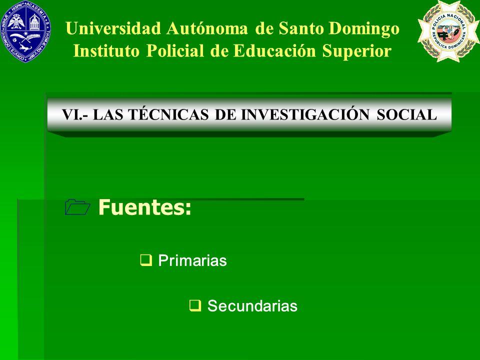 Fuentes: Universidad Autónoma de Santo Domingo