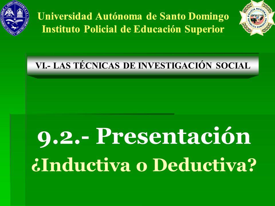 9.2.- Presentación ¿Inductiva o Deductiva