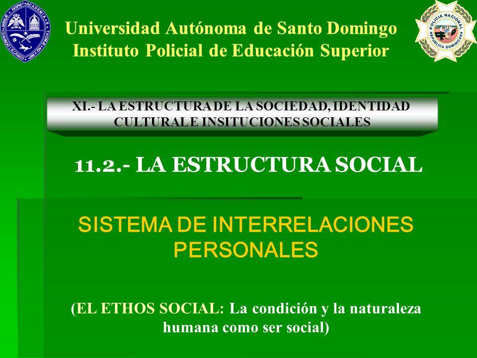 SISTEMA DE INTERRELACIONES PERSONALES