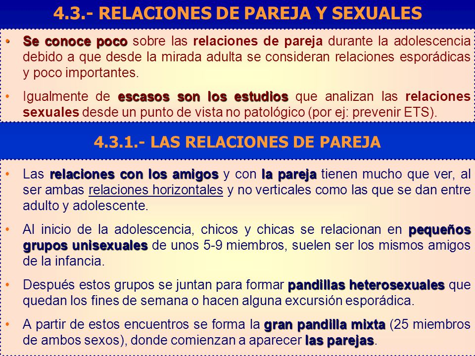 Cuestionario sobre el comportamiento sexual de los adolescentes