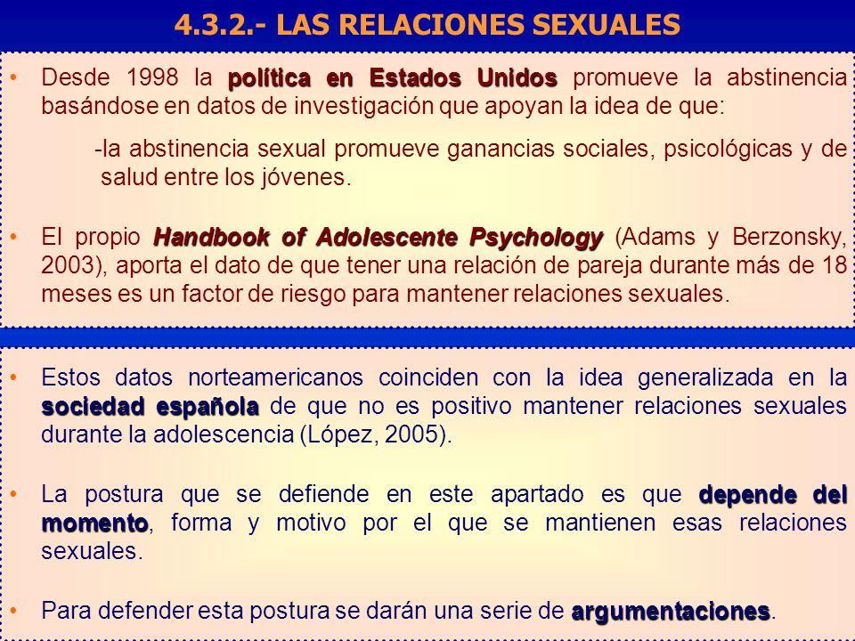 PROMOCIÓN DE LA SALUD SEXUAL ANTE EL RIESGO