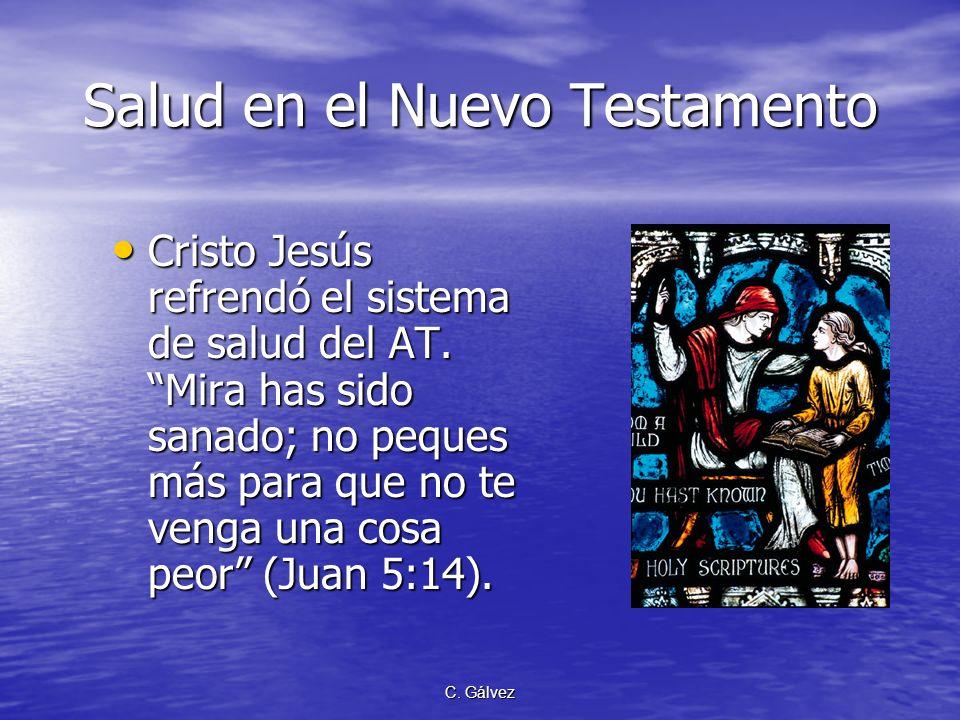 Salud en el Nuevo Testamento