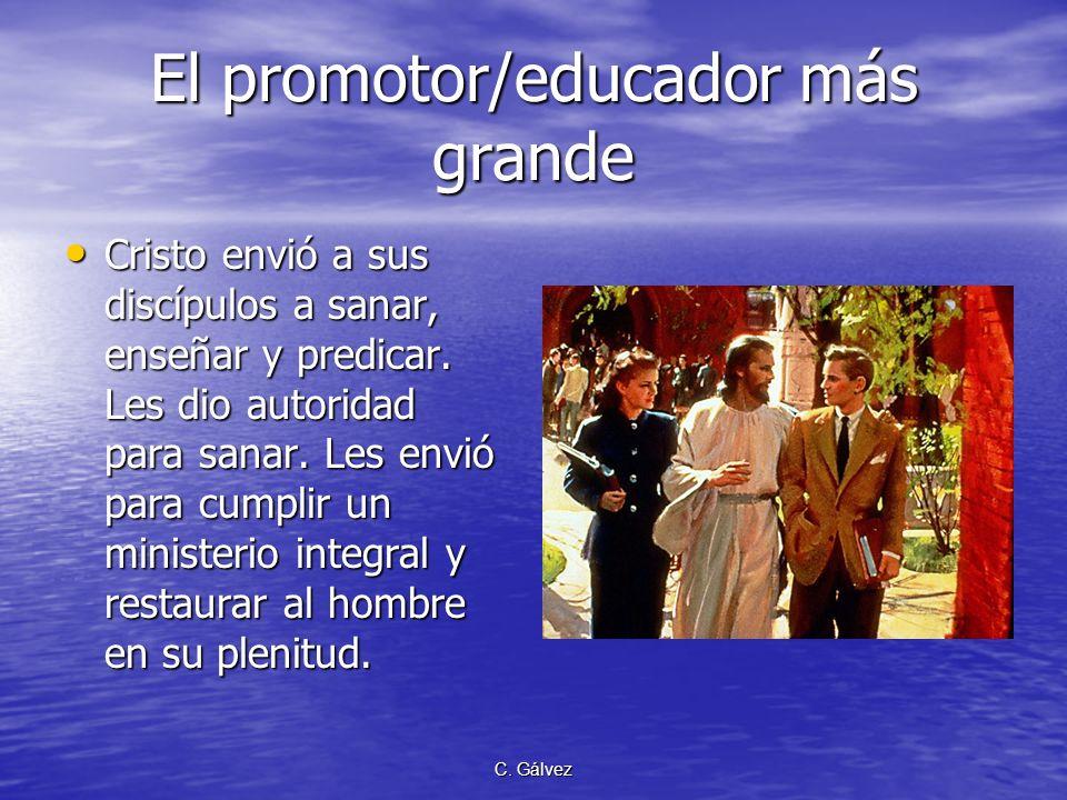 El promotor/educador más grande