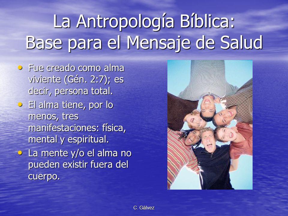 La Antropología Bíblica: Base para el Mensaje de Salud