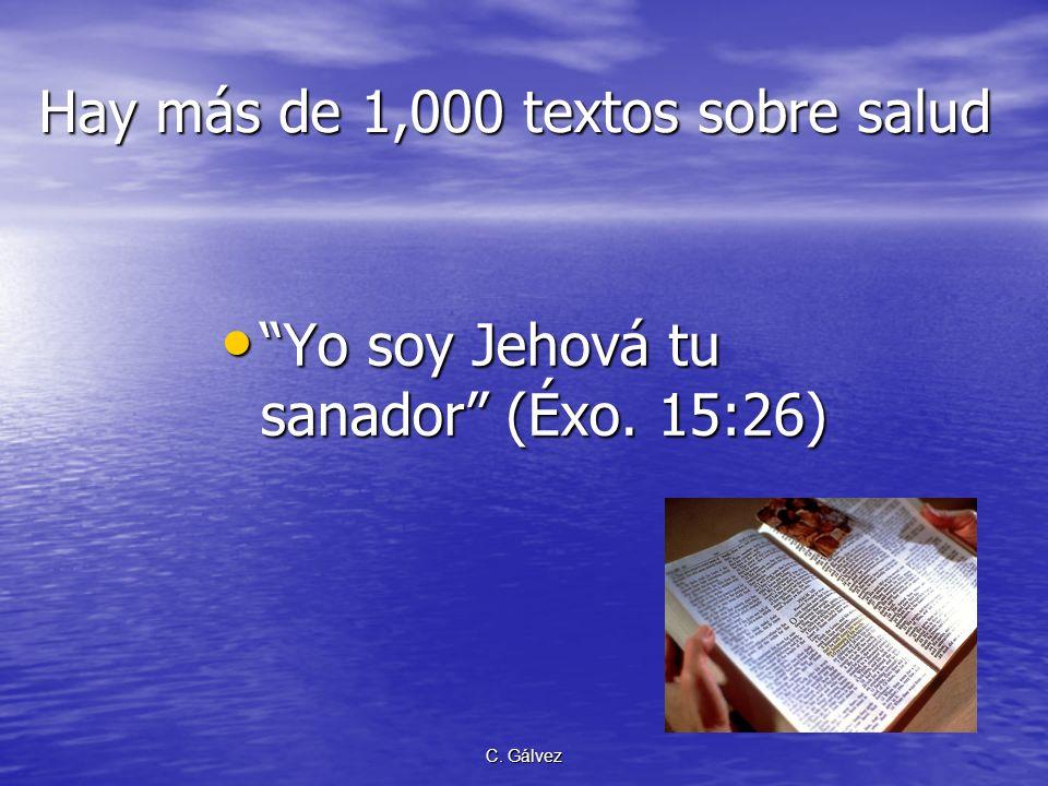 Hay más de 1,000 textos sobre salud