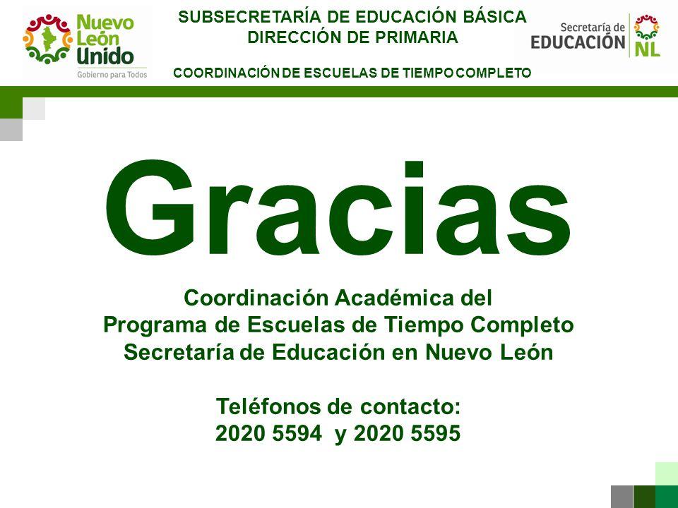 SUBSECRETARÍA DE EDUCACIÓN BÁSICA