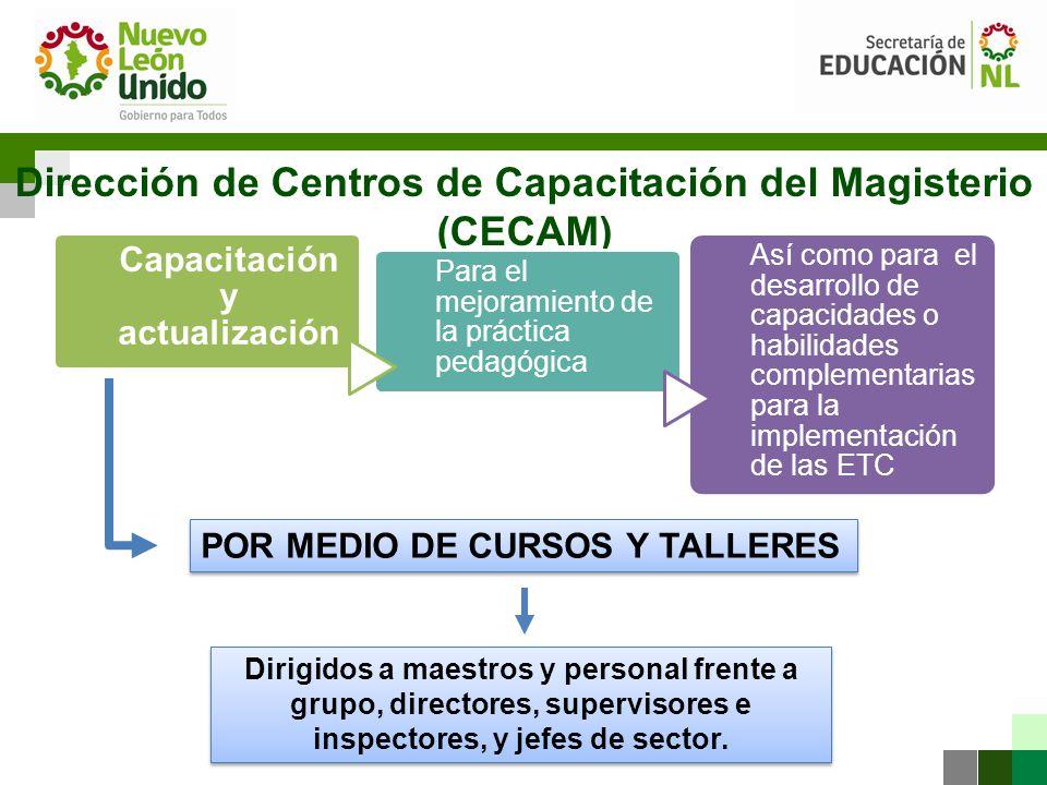 Dirección de Centros de Capacitación del Magisterio (CECAM)