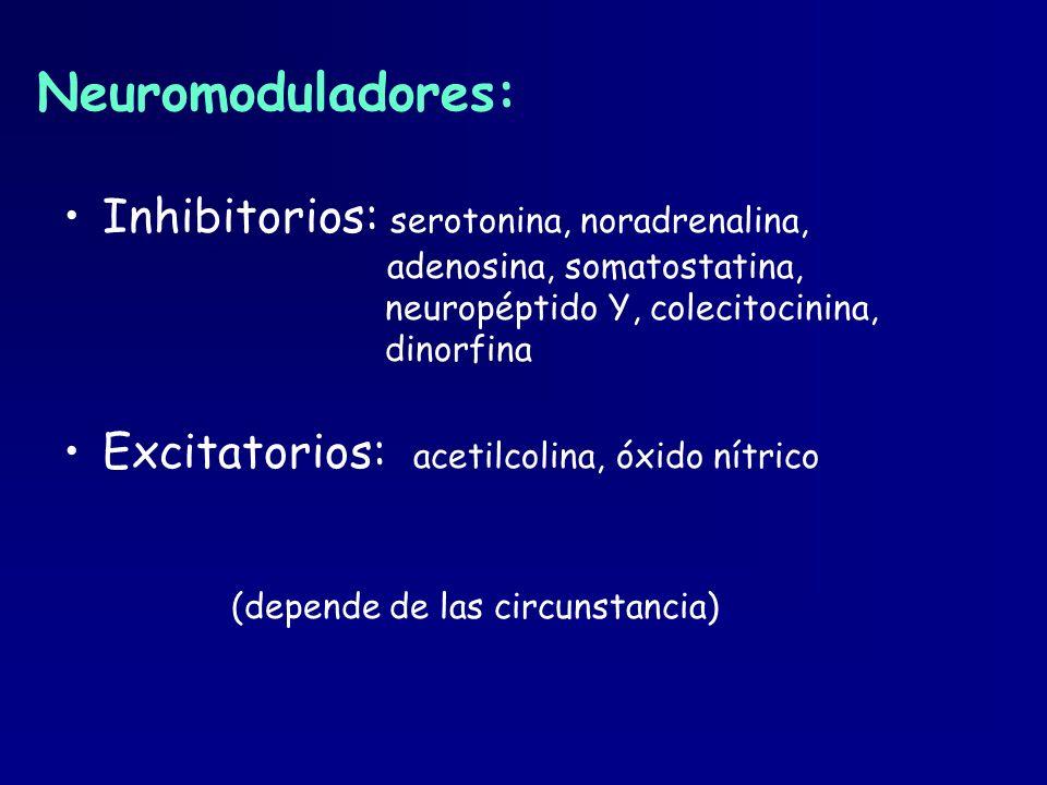 Neuromoduladores: