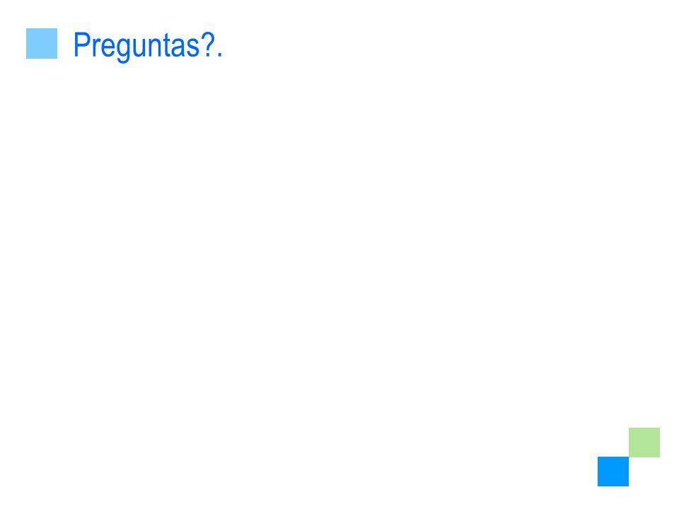 Preguntas .