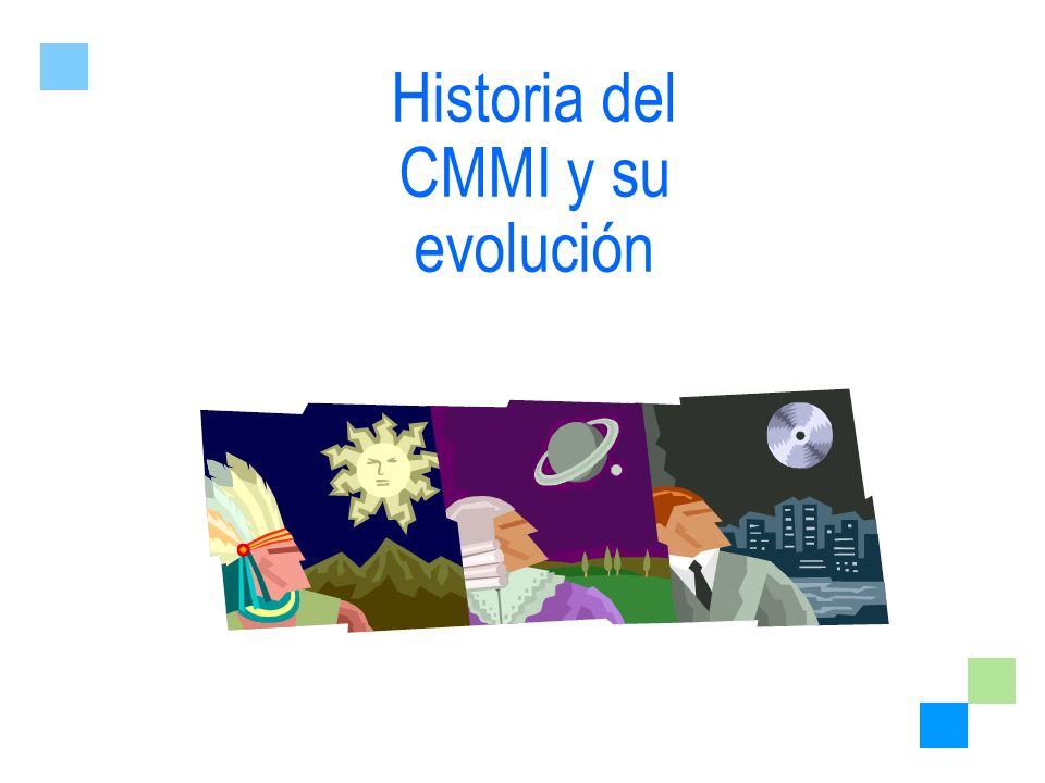 Historia del CMMI y su evolución