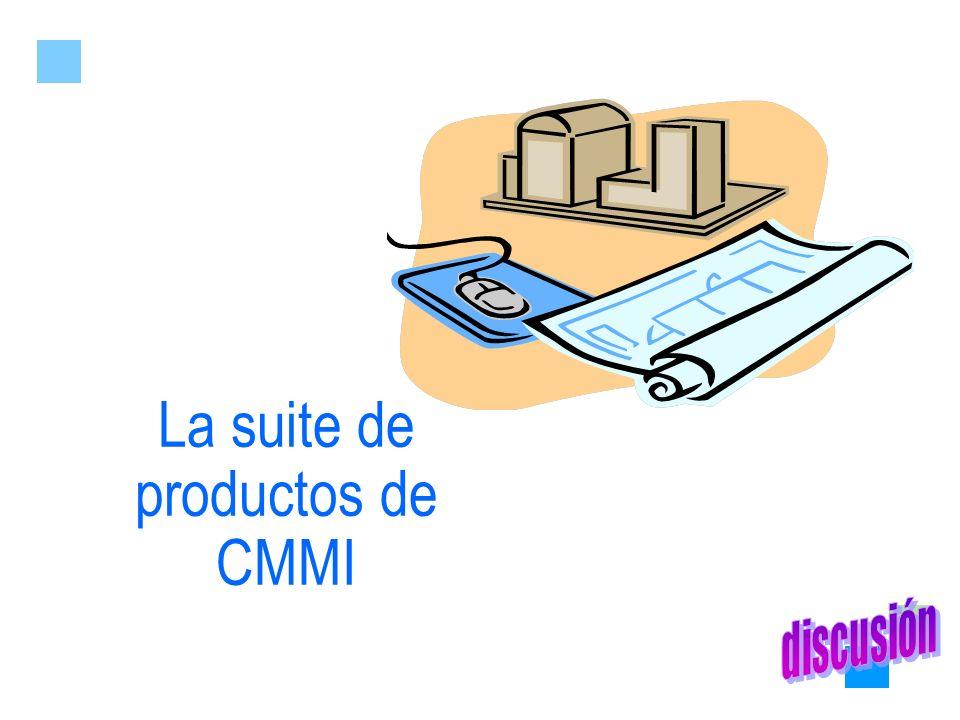 La suite de productos de CMMI