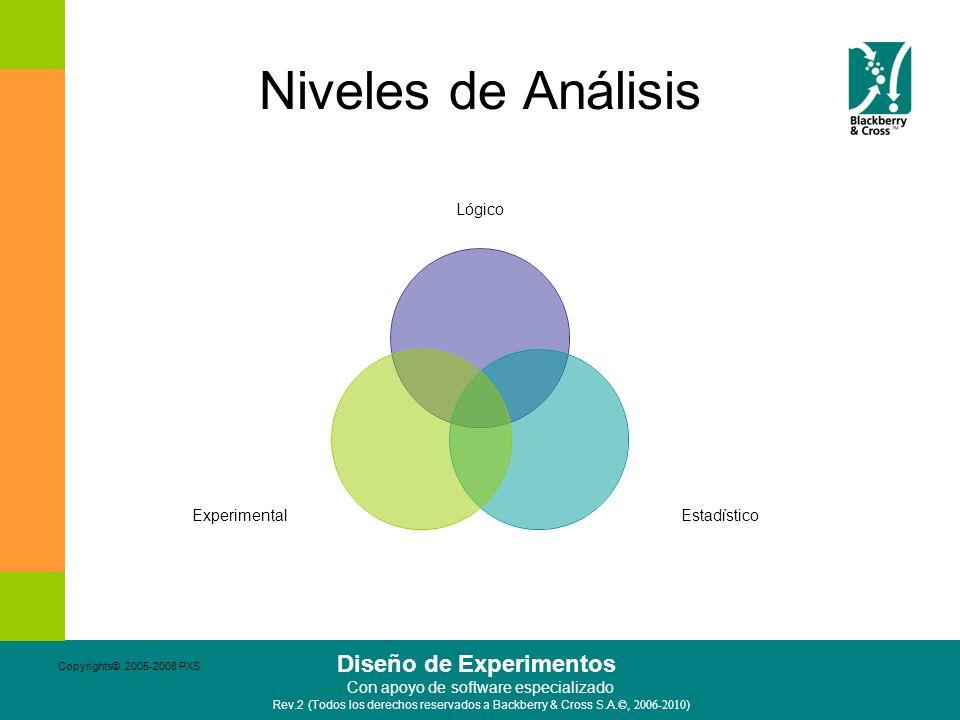 Niveles de Análisis Copyrights©. 2005-2008 PXS