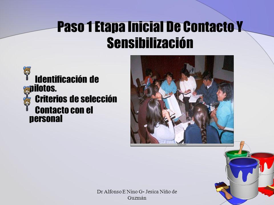Paso 1 Etapa Inicial De Contacto Y Sensibilización