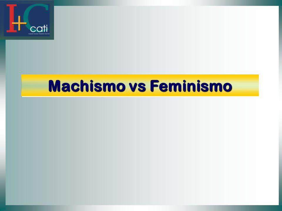 Machismo vs Feminismo