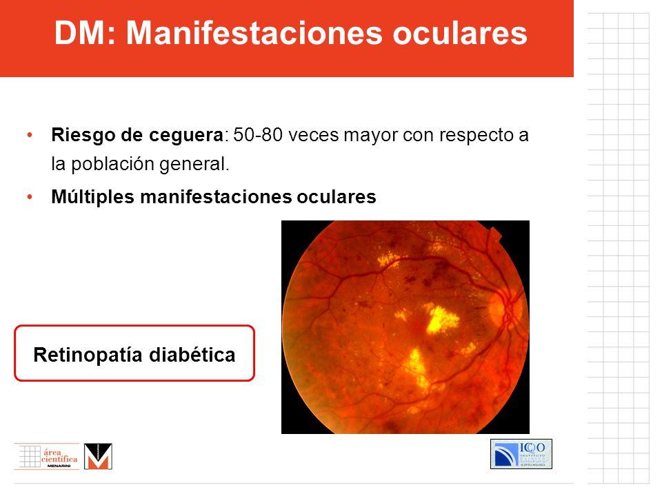DM: Manifestaciones oculares