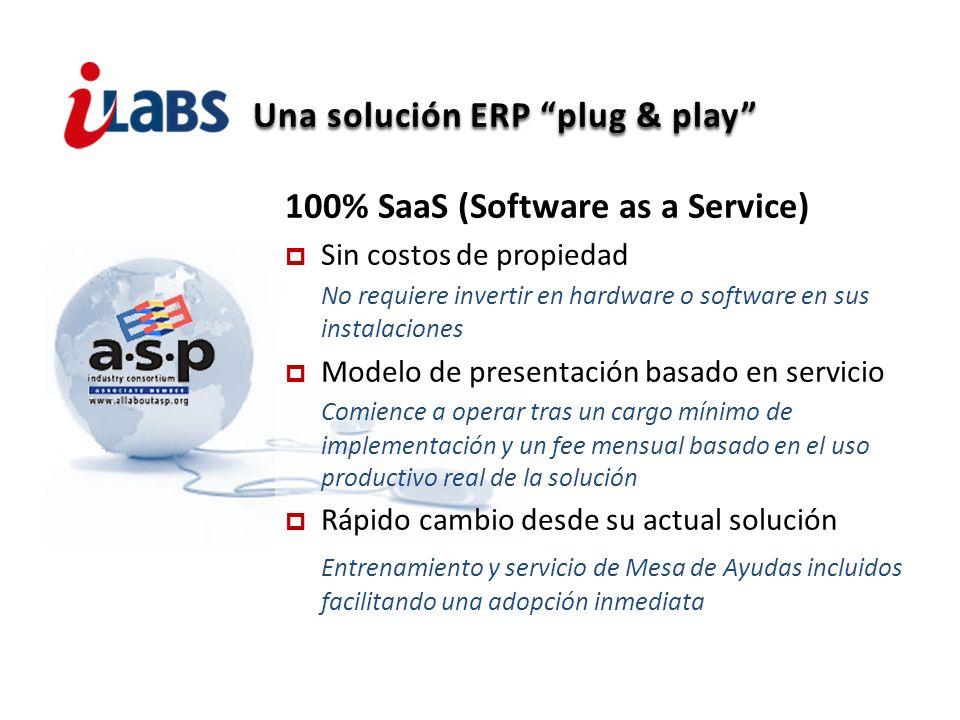 Una solución ERP plug & play