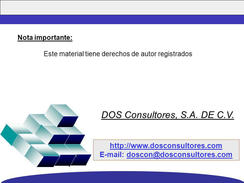 E-mail: doscon@dosconsultores.com