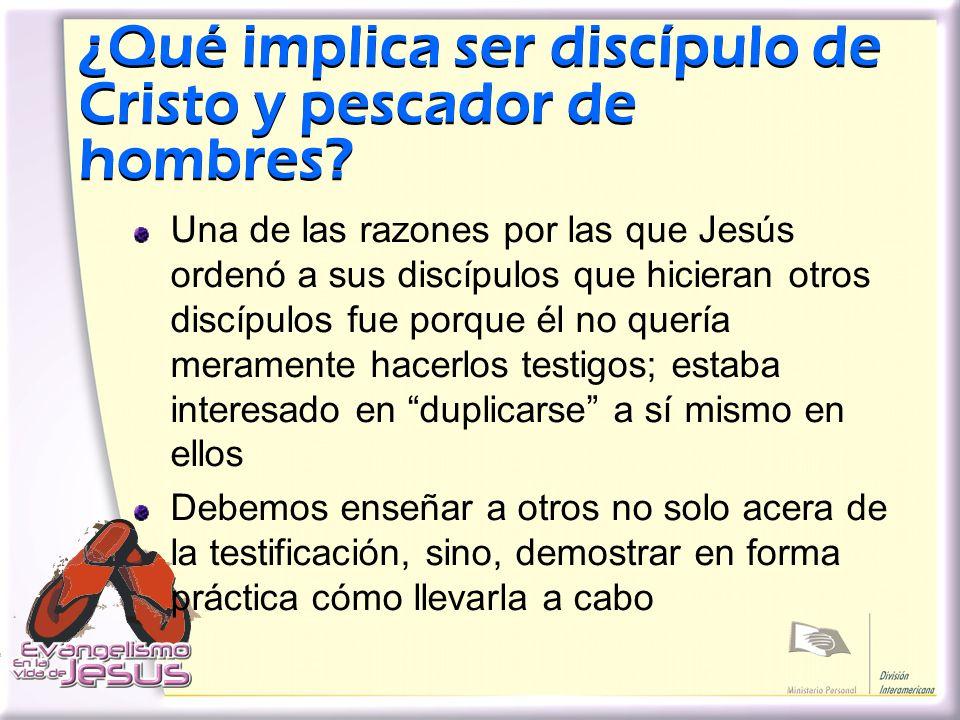 ¿Qué implica ser discípulo de Cristo y pescador de hombres