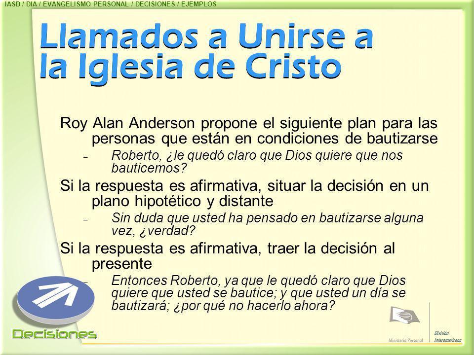 Llamados a Unirse a la Iglesia de Cristo