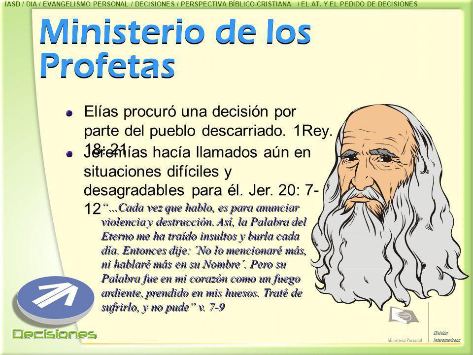 Ministerio de los Profetas