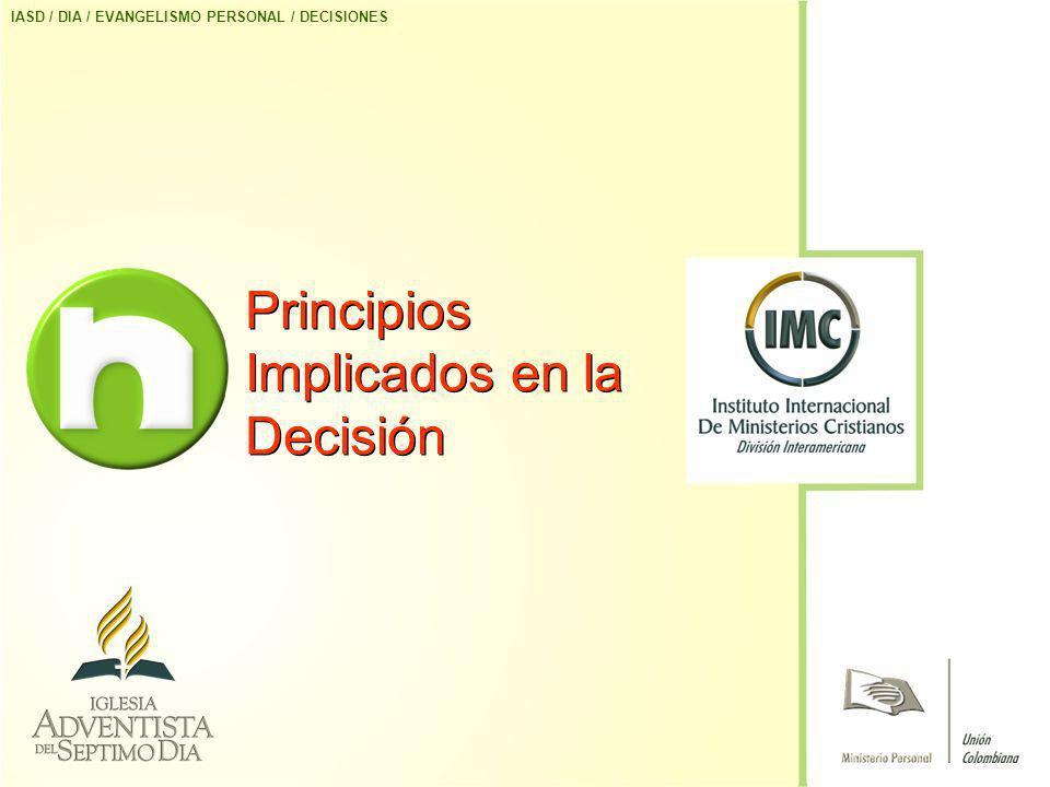 Principios Implicados en la Decisión