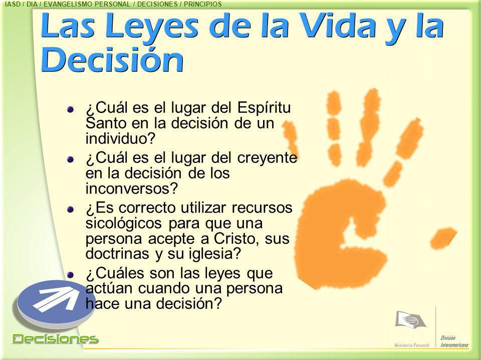 Las Leyes de la Vida y la Decisión