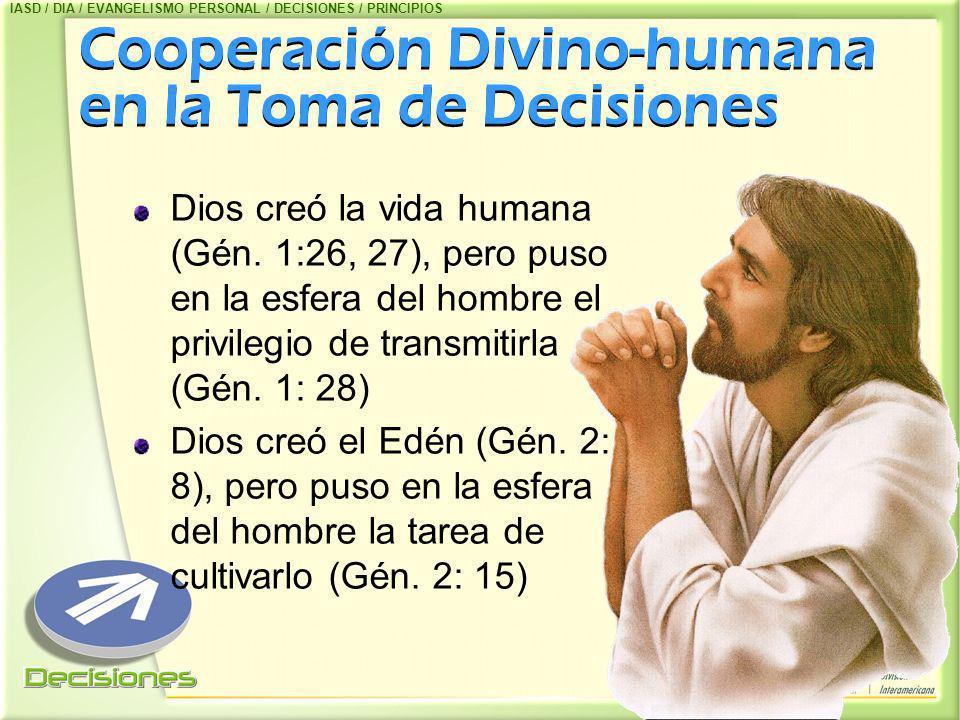 Cooperación Divino-humana en la Toma de Decisiones
