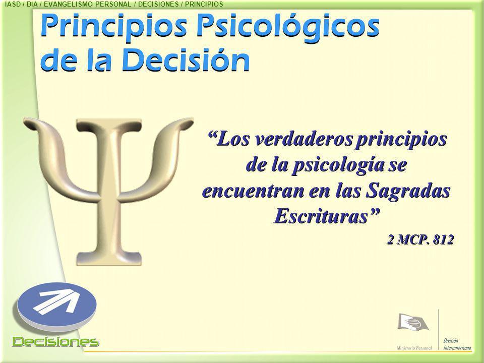 Principios Psicológicos de la Decisión