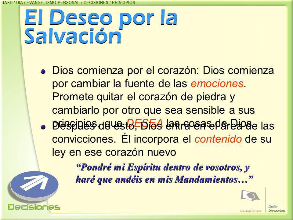El Deseo por la Salvación