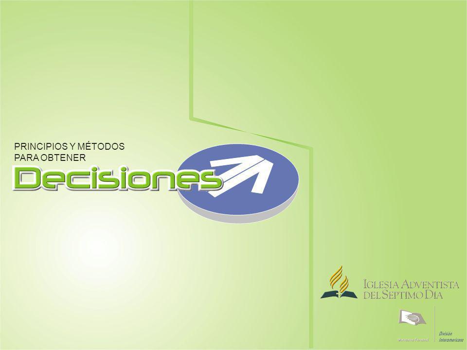 PRINCIPIOS Y MÉTODOS PARA OBTENER