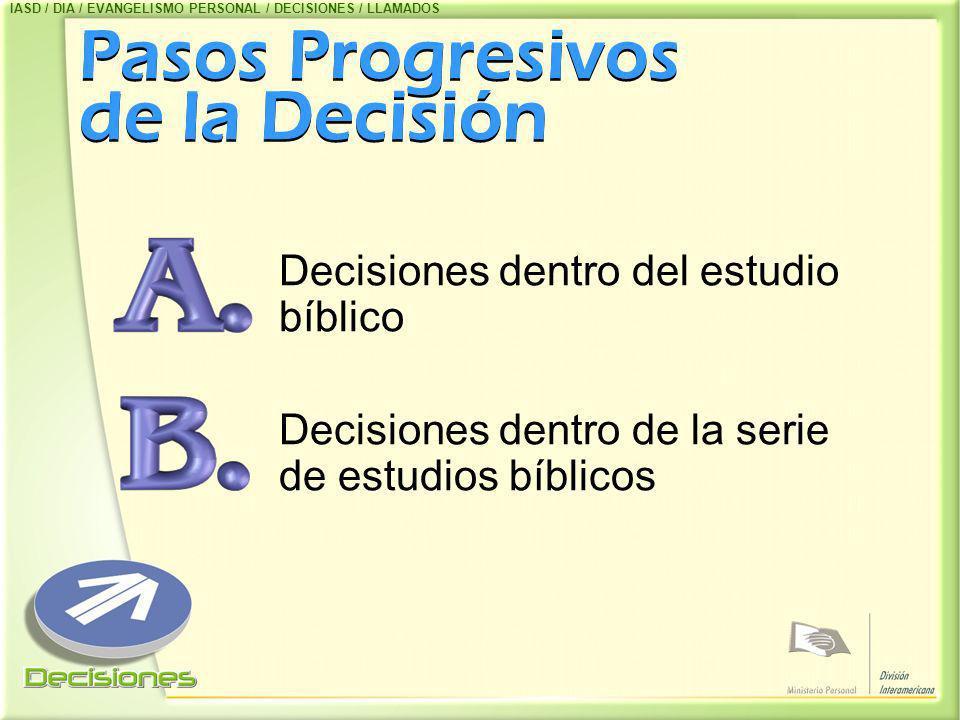 Pasos Progresivos de la Decisión