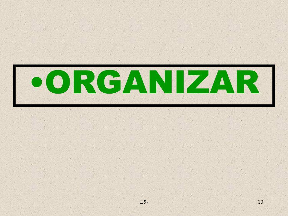 ORGANIZAR L5-