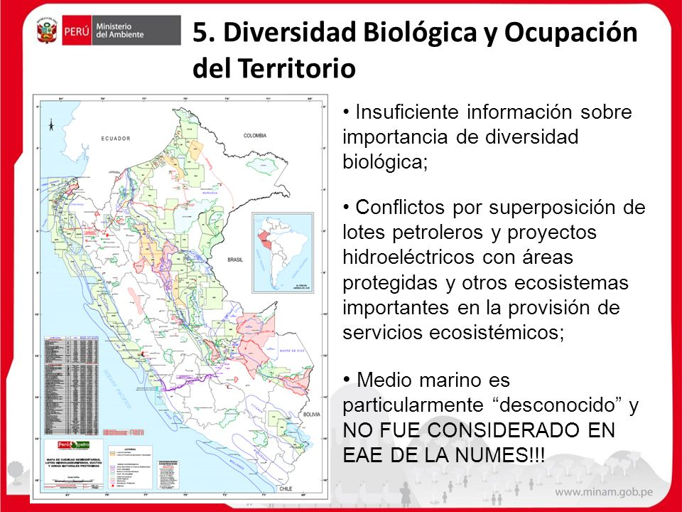 5. Diversidad Biológica y Ocupación del Territorio