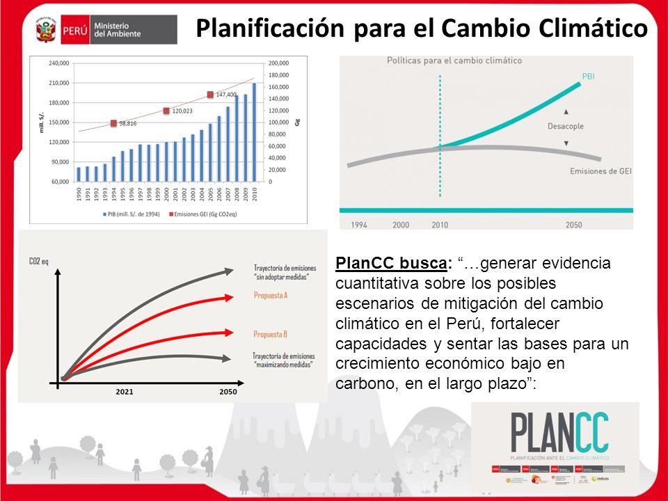 Planificación para el Cambio Climático