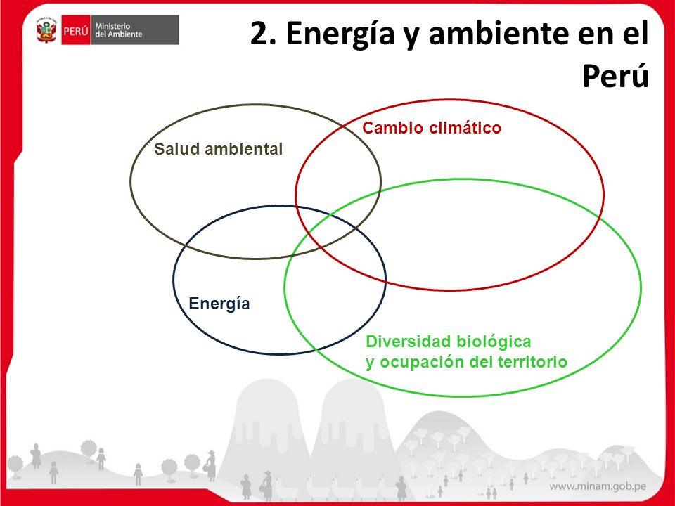 2. Energía y ambiente en el Perú