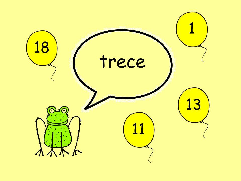 1 18 trece 13 11