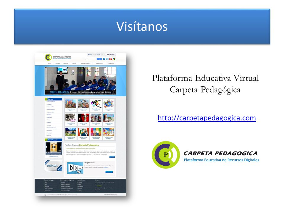 Plataforma Educativa Virtual