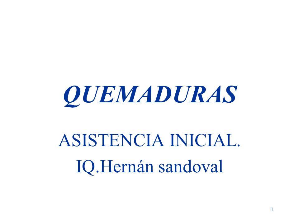 ASISTENCIA INICIAL. IQ.Hernán sandoval
