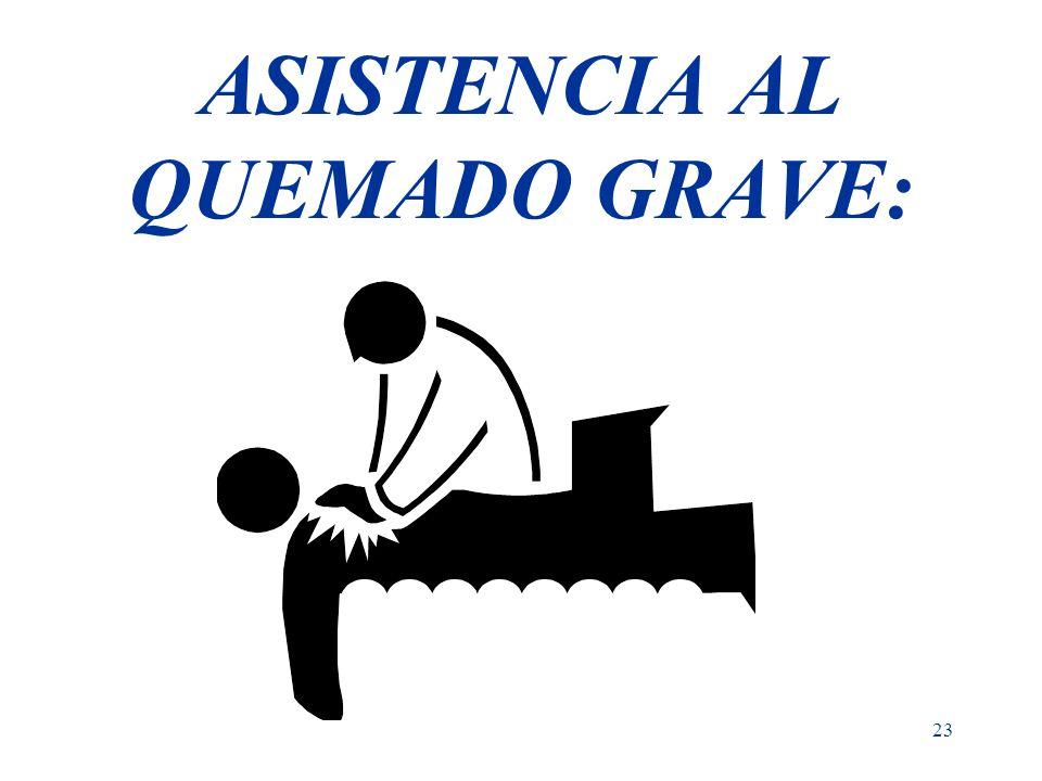 ASISTENCIA AL QUEMADO GRAVE:
