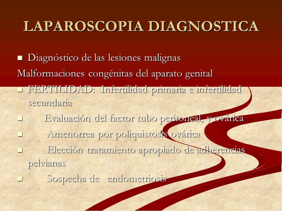 LAPAROSCOPIA DIAGNOSTICA