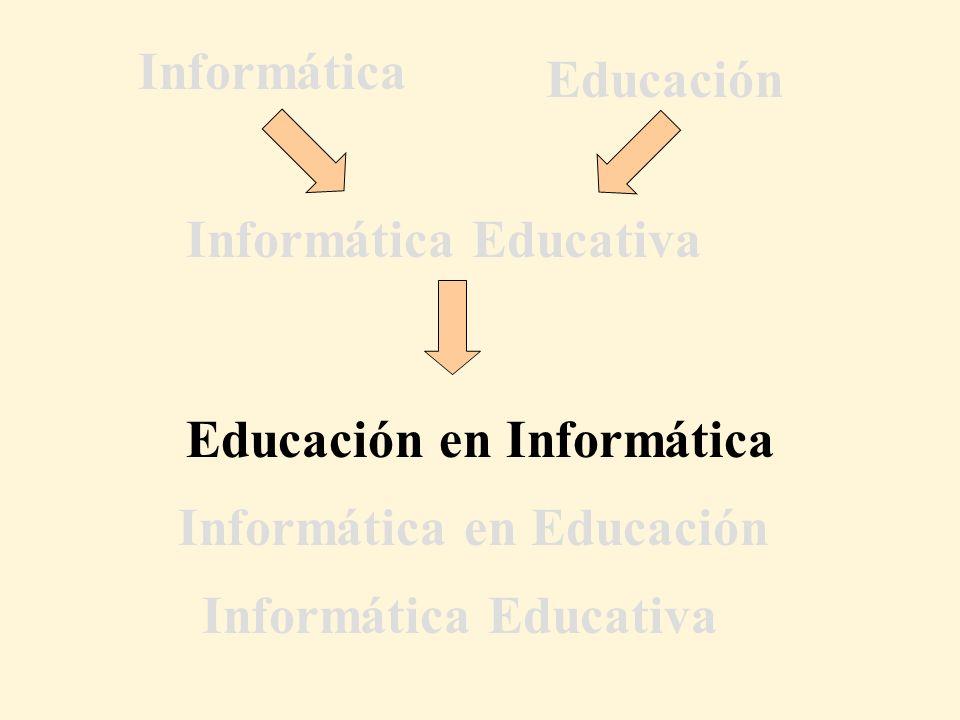 Informática Educativa Informática Educativa